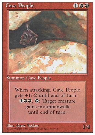 Cave People, 4th Edition