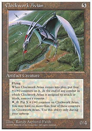 Clockwork Avian, 4th Edition