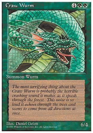Craw Wurm, 4th Edition