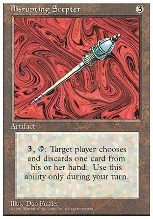 Disrupting Scepter, 4th Edition