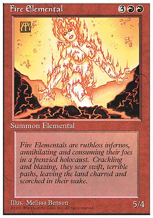 Fire Elemental, 4th Edition