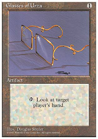 Glasses of Urza, 4th Edition