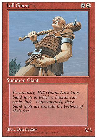 Hill Giant, 4th Edition