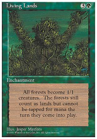 Living Lands, 4th Edition