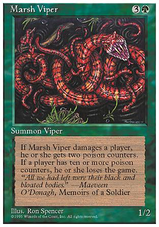 Marsh Viper, 4th Edition
