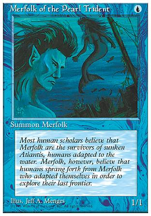 Merfolk of the Pearl Trident, 4th Edition