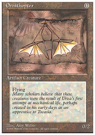 Ornithopter, 4th Edition
