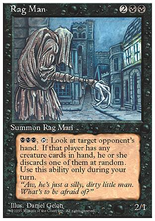 Rag Man, 4th Edition