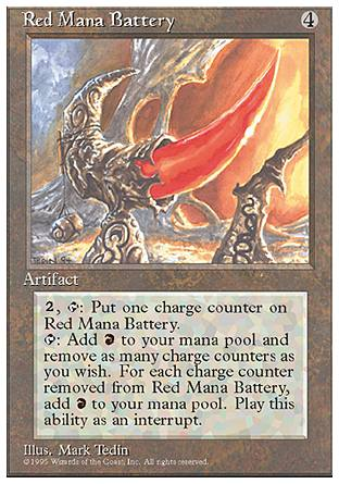 Red Mana Battery, 4th Edition