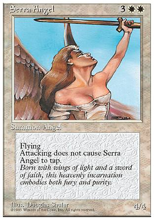 Serra Angel, 4th Edition