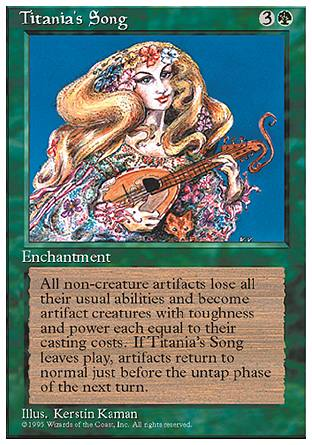 Titania's Song, 4th Edition