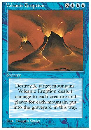 Volcanic Eruption, 4th Edition