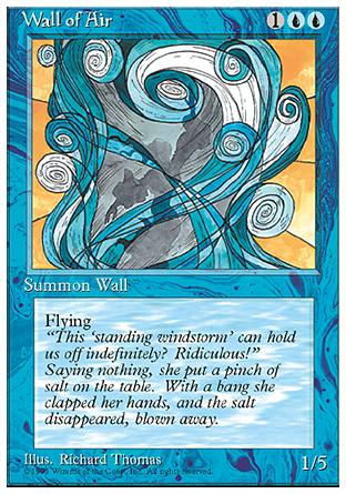 Wall of Air, 4th Edition