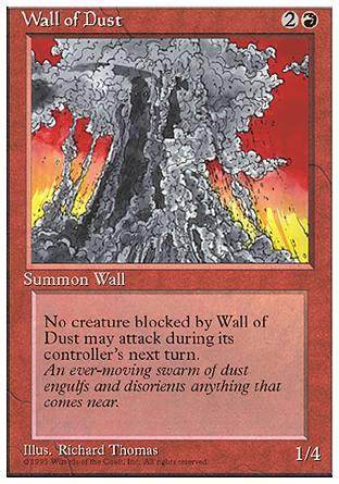 Wall of Dust, 4th Edition