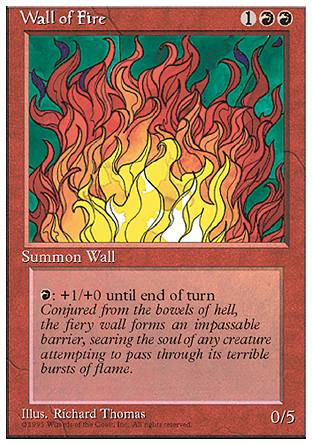 Wall of Fire, 4th Edition