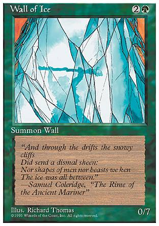Wall of Ice, 4th Edition