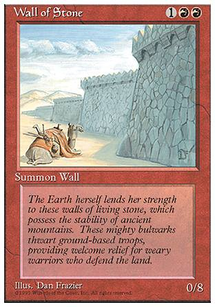 Wall of Stone, 4th Edition