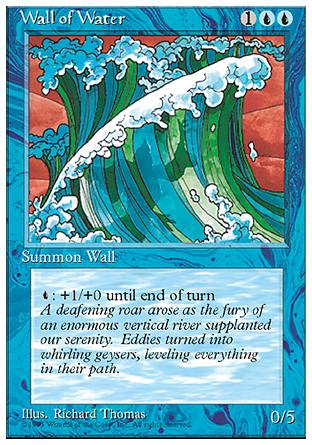 Wall of Water, 4th Edition