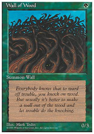 Wall of Wood, 4th Edition