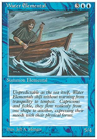 Water Elemental, 4th Edition