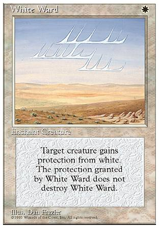 White Ward, 4th Edition