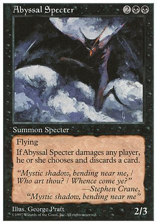 Abyssal Specter, 5th Edition