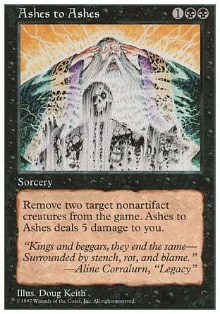 Ashes to Ashes, 5th Edition