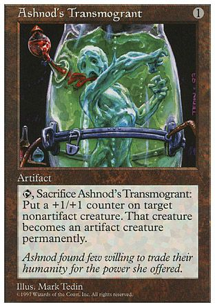 Ashnod's Transmogrant, 5th Edition