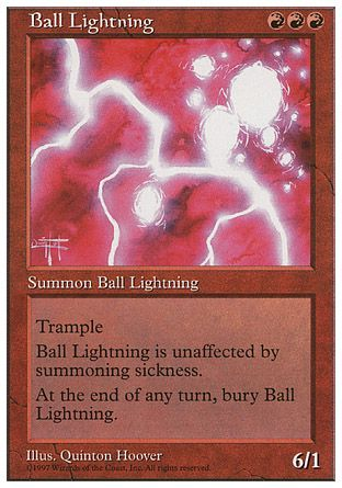 Ball Lightning, 5th Edition