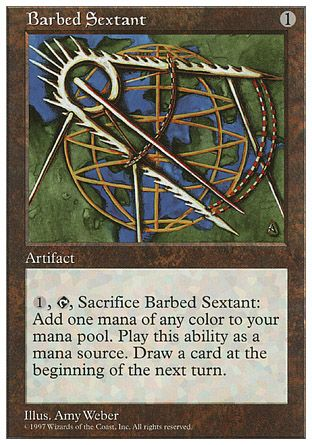 Barbed Sextant, 5th Edition