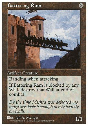 Battering Ram, 5th Edition