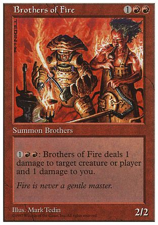 Brothers of Fire, 5th Edition