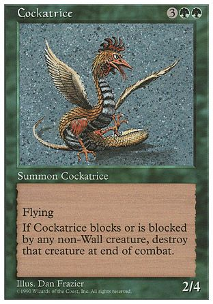 Cockatrice, 5th Edition