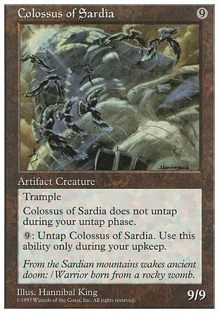 Colossus of Sardia, 5th Edition