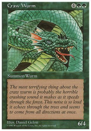 Craw Wurm, 5th Edition
