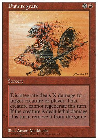 Disintegrate, 5th Edition