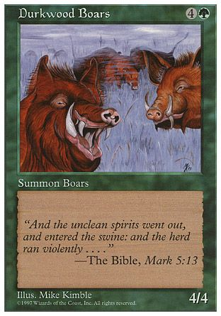 Durkwood Boars, 5th Edition