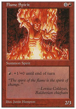 Flame Spirit, 5th Edition
