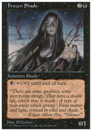 Frozen Shade, 5th Edition