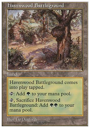 Havenwood Battleground, 5th Edition