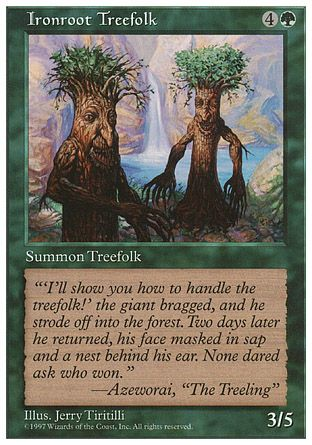 Ironroot Treefolk, 5th Edition