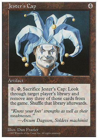 Jester's Cap, 5th Edition