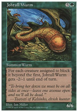 Johtull Wurm, 5th Edition