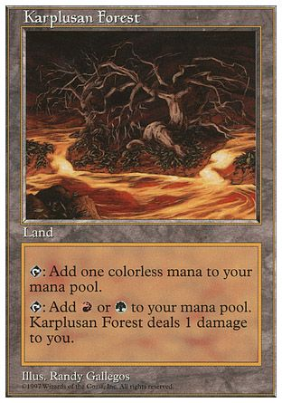 Karplusan Forest, 5th Edition