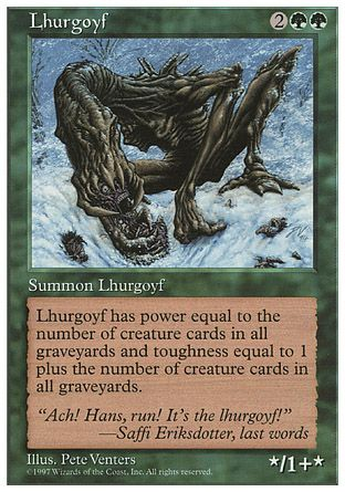 Lhurgoyf, 5th Edition