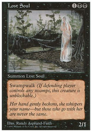 Lost Soul, 5th Edition