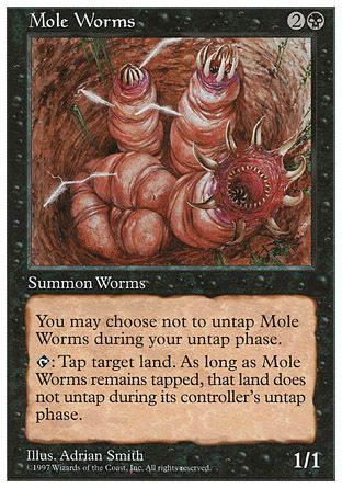 Mole Worms, 5th Edition