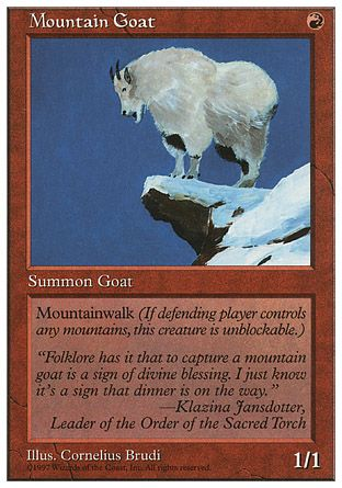 Mountain Goat, 5th Edition