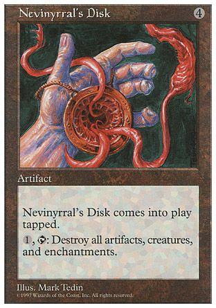 Nevinyrral's Disk, 5th Edition