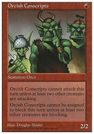 Orcish Conscripts, 5th Edition